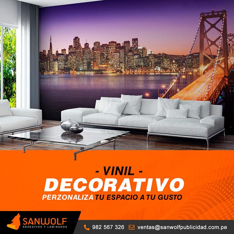 Vinilos decorativos Lima Peru