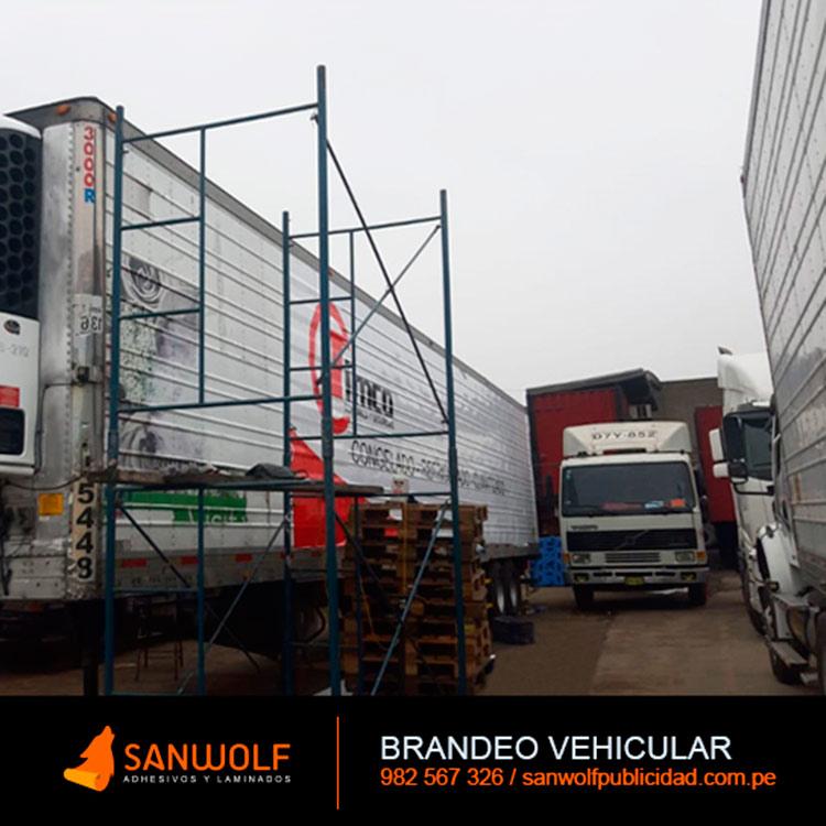 Rotulado Autos y Camiones Lima Peru