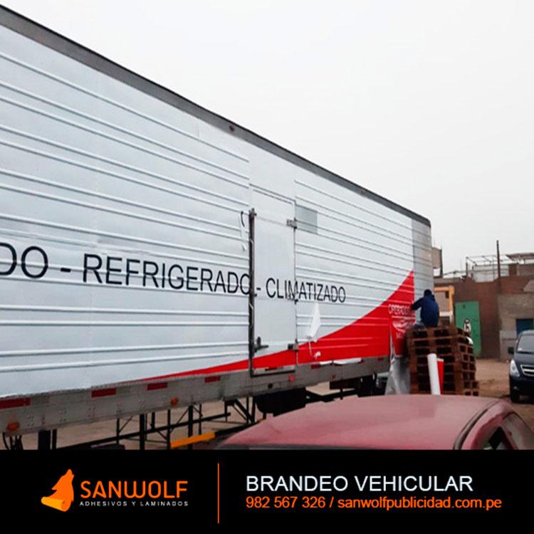 Brandeo Autos y Camiones Peru